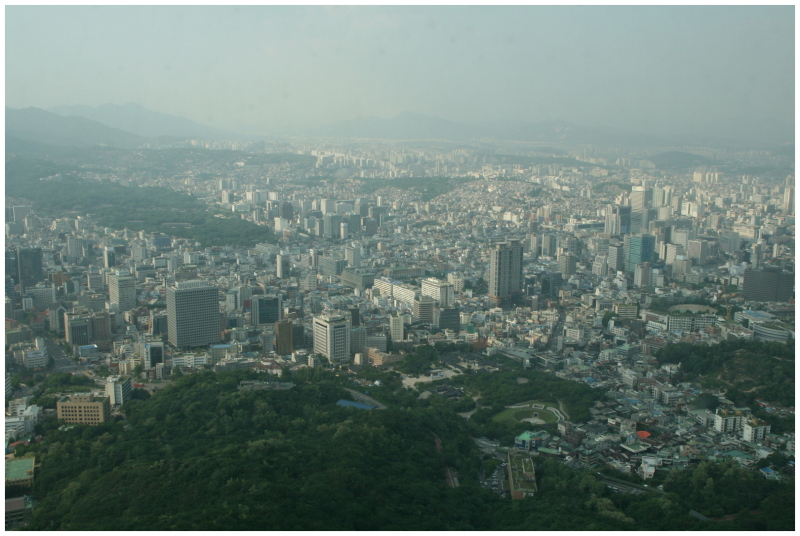 Seoul, from Namsan Tower