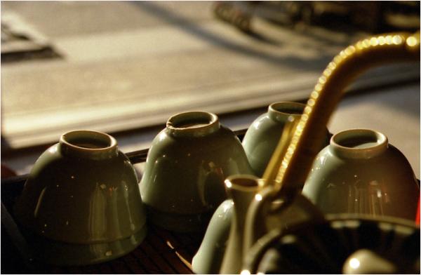 tea for visitors