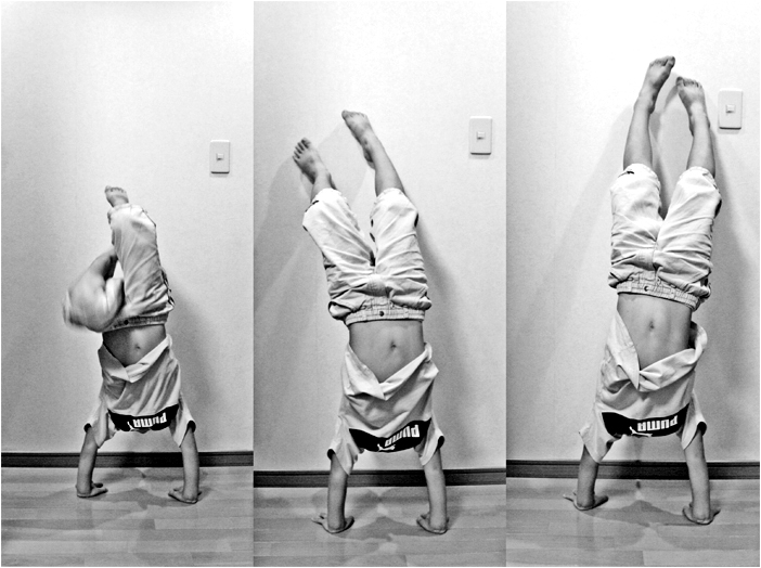 how to practice a handstand