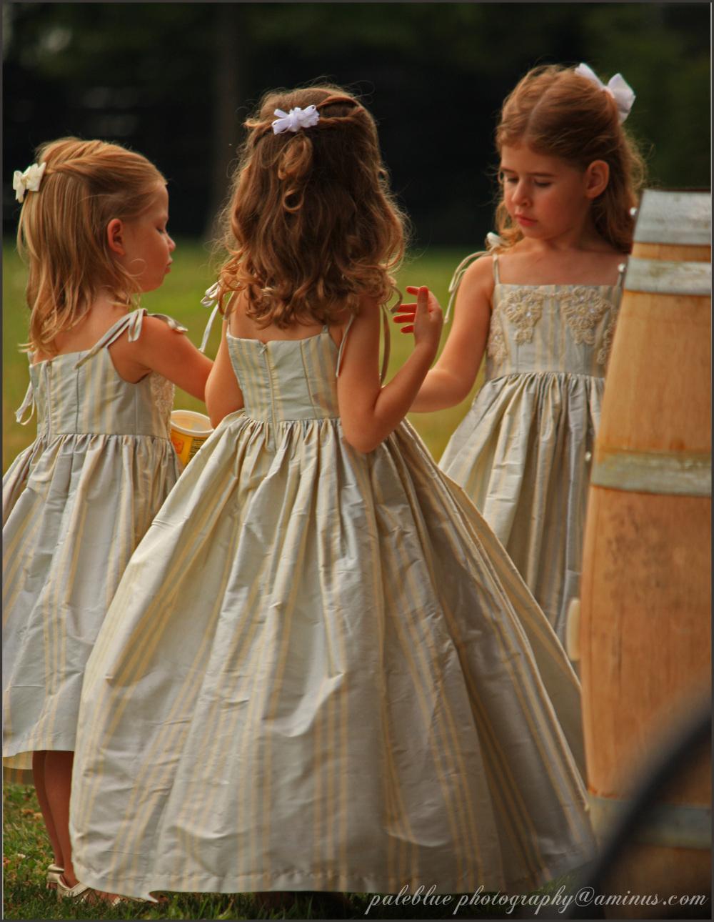 Little Girls in Dresses