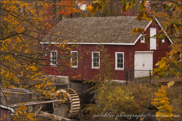 Old Mill in Autumn