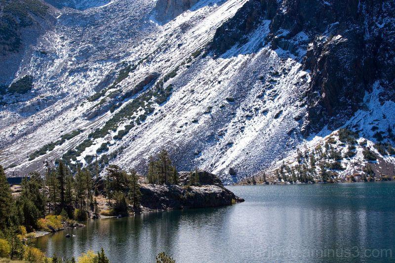 Lake along Tioga Pass