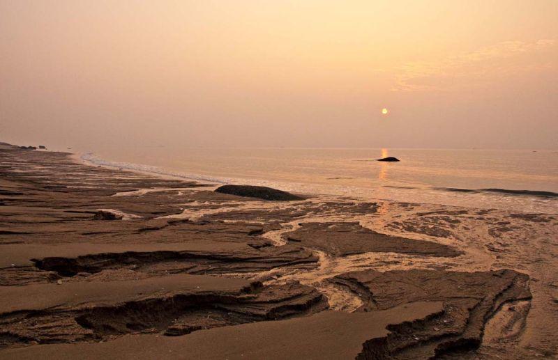 Sunrise at 环岛南路(huan dao nan lu)