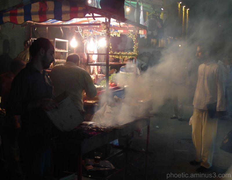 Smoky Street Scene
