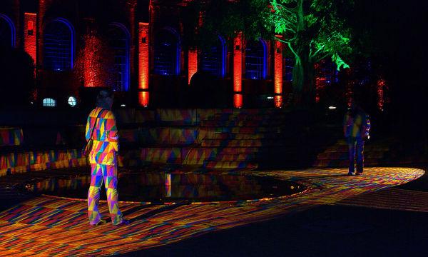 Licht im Park 2