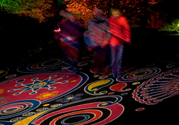 Licht im Park 3