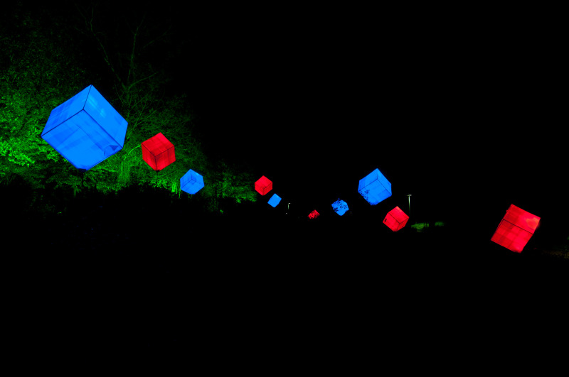 Licht im Park 4
