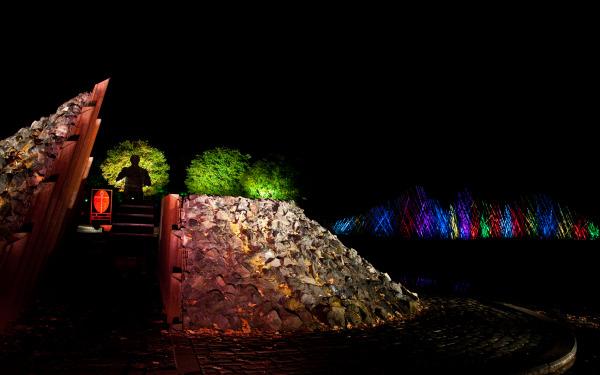 Licht im Park 5