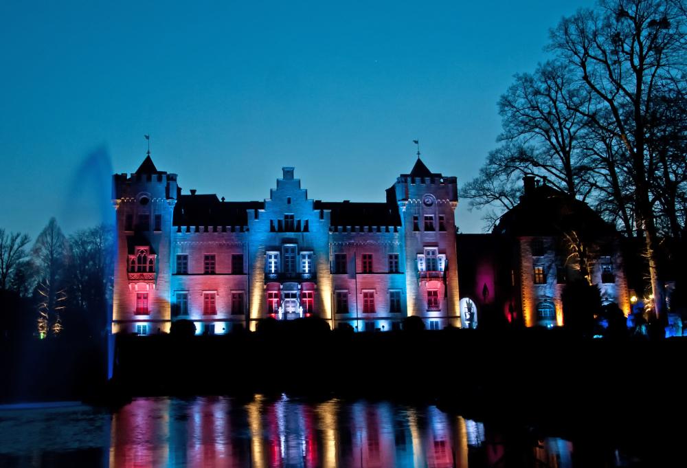Lichterzauber am Jagdschloss