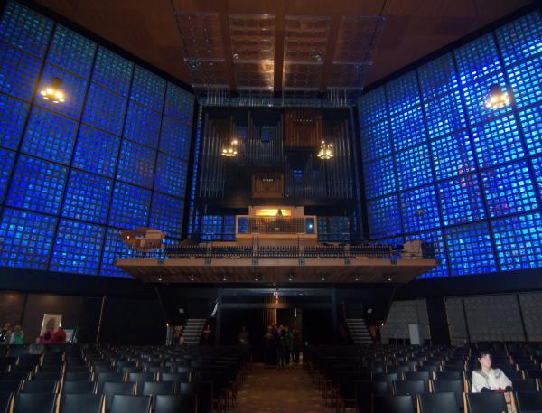 Blaue Fenster
