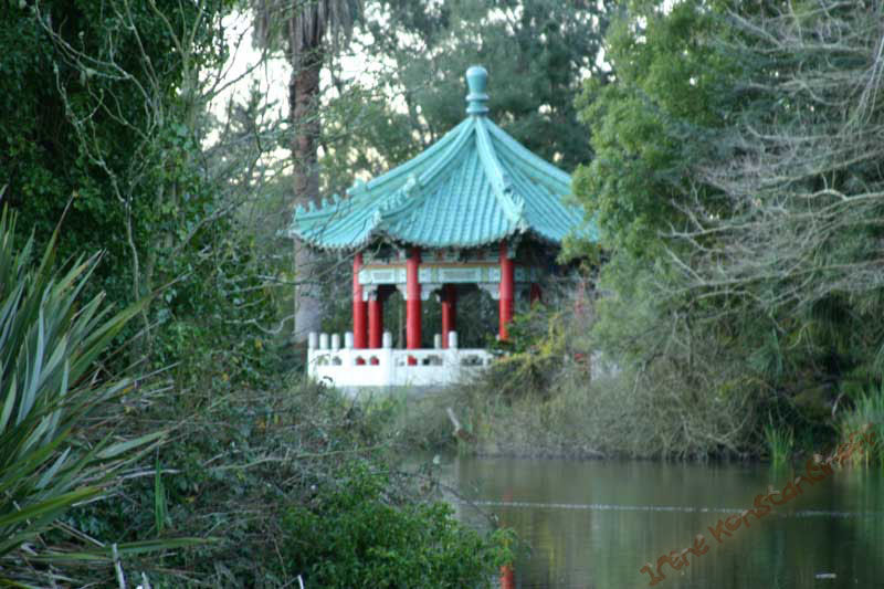 Chinese Pavilion at Stow Lake