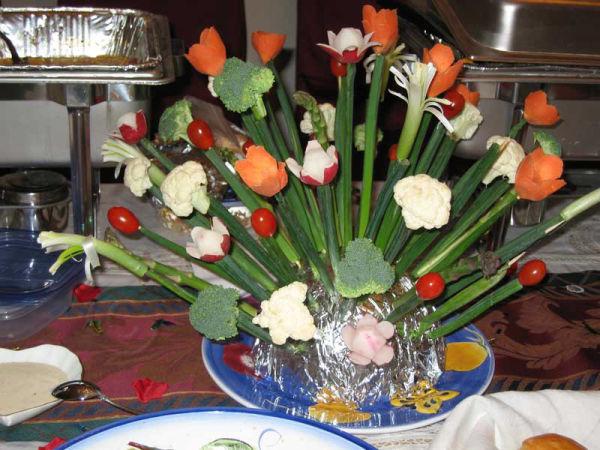 Vegetable Centerpiece