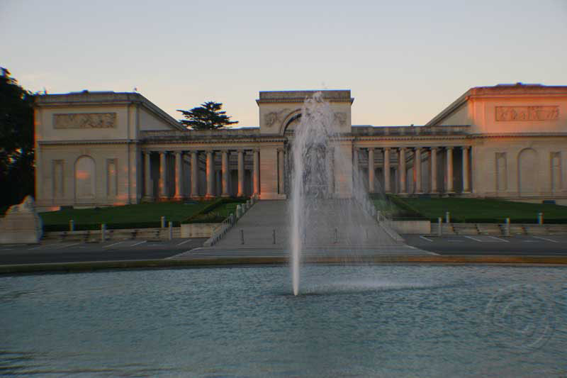 Palace of Legion of Honor with Fountain