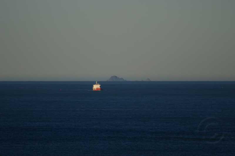Farallon Islands On Clear Day