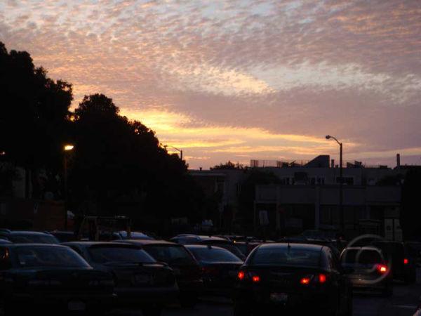 Sky At Parking Lot