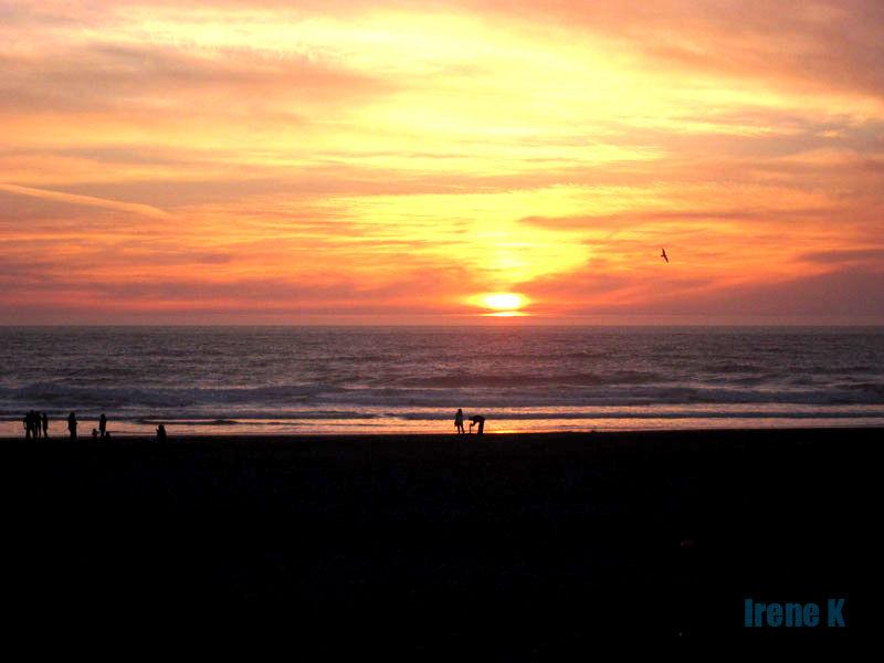 Sunset @ Ocean Beach