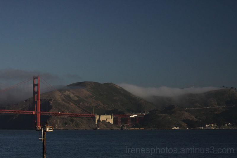 Fog on Marin Mountains