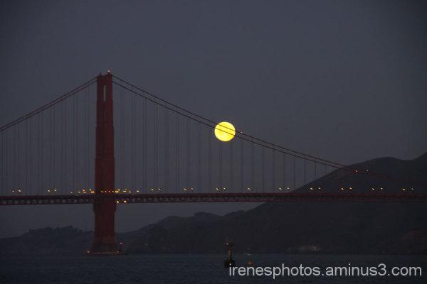 Morning Moon #1