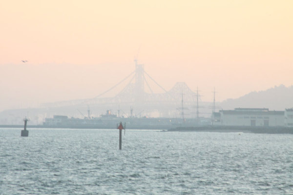 Bridge in Background
