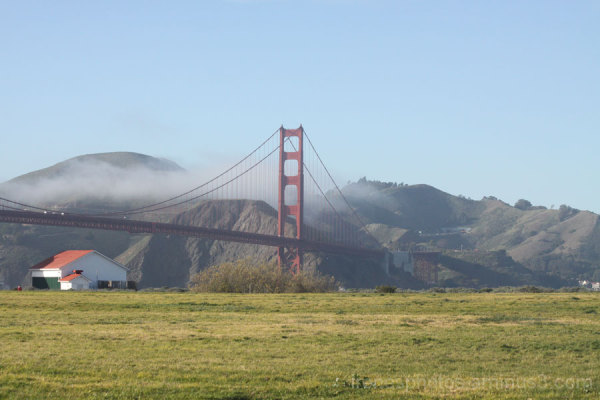 Light Fog on Golden Gate Bridge