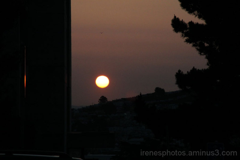 Sunrise on March 22, 2013 #2 of 3