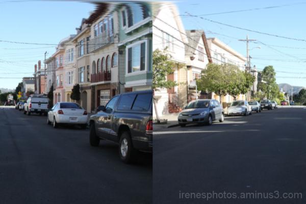 Linear Street Scene #1 of 2