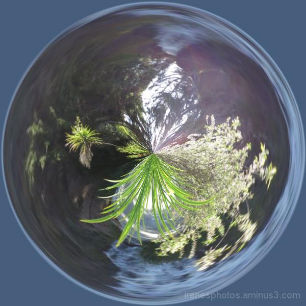 Waterfall Bubble