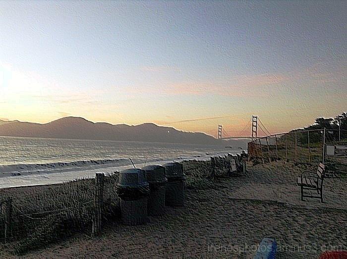 Golden Gate Bridge with Effect #2