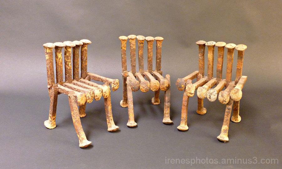 Three Original Mini Chairs