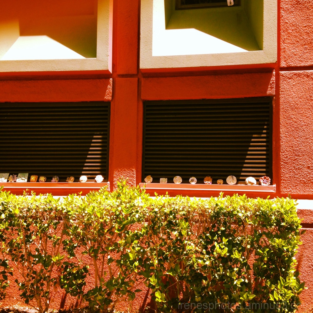 Ceramics (?) on Window Sill