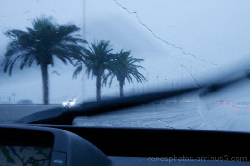 Going in Rain
