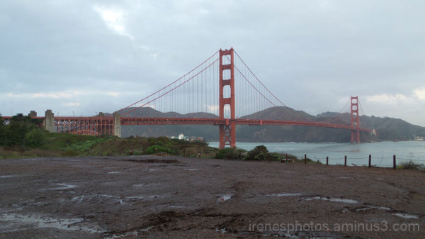 Golden Gate Bridge on 12/17/14