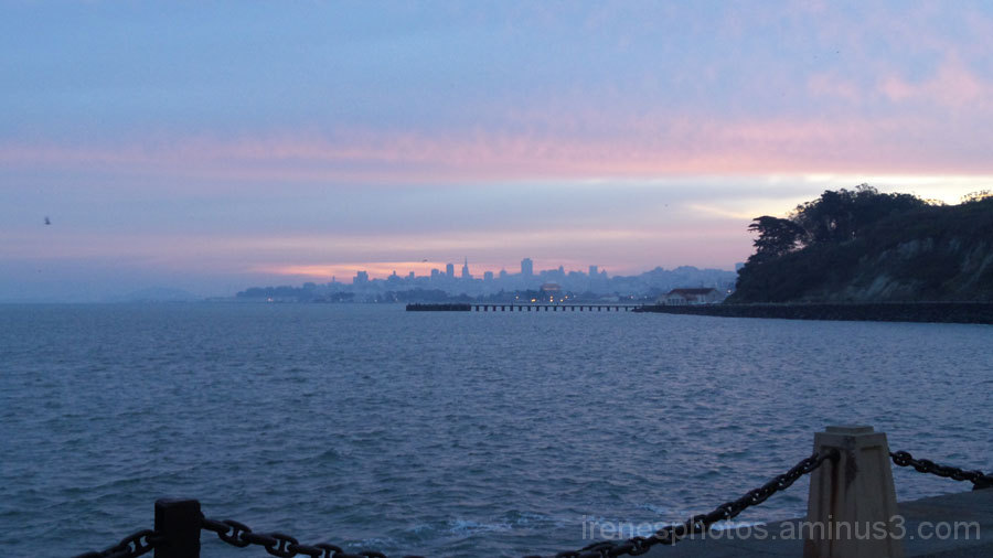 Morning Skyline on January 4, 2015