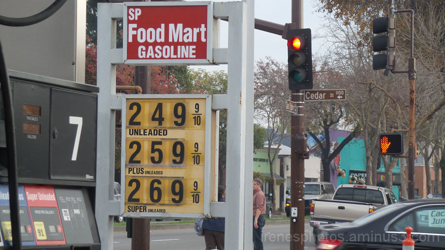 Price of Gas Down
