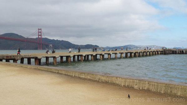 Golden Gate Bridge and Pier