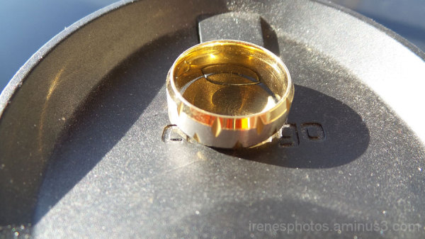 Ring on Contigo Mug Cap