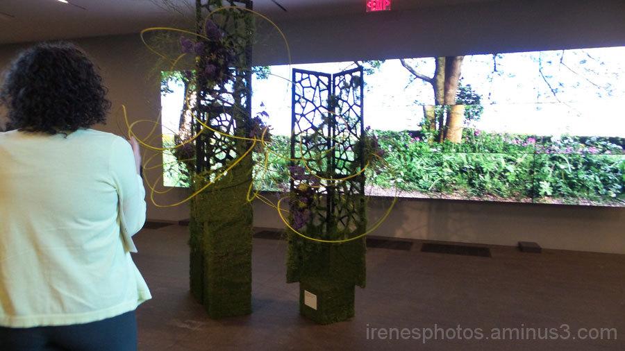 Bouquets to Art Exhibit