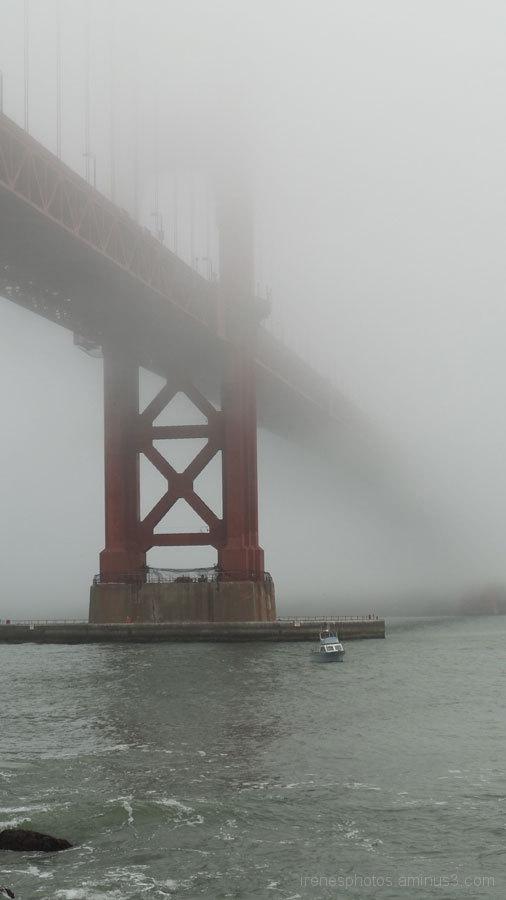Golden Gate Fogged In