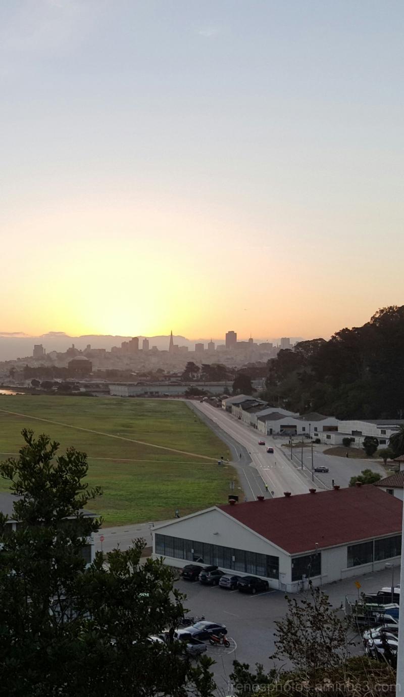 Sunrise on Oct. 6, 2015