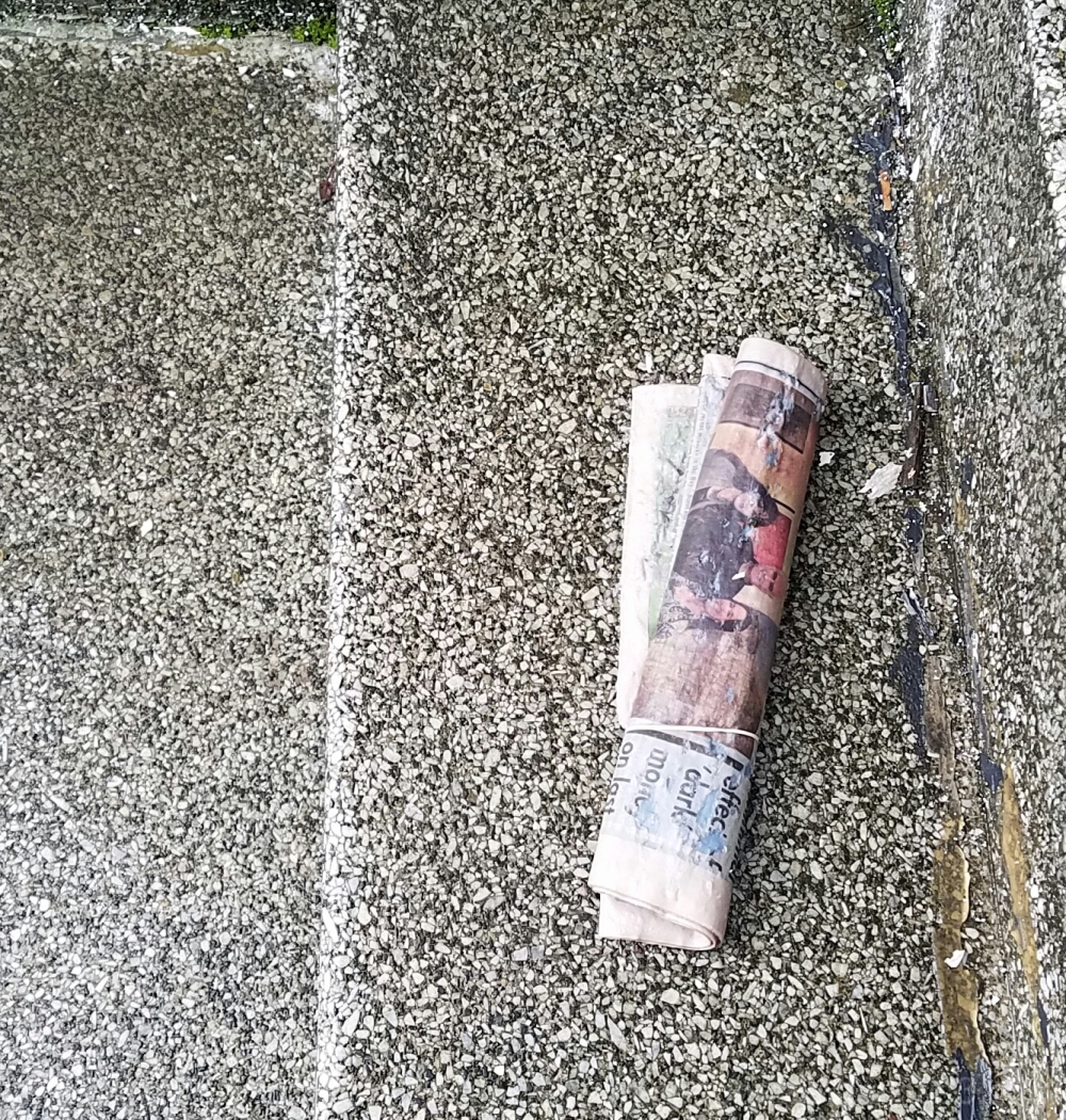 Wet Newspaper