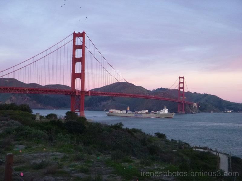 Golden Gate Bridge on 01.30.2017