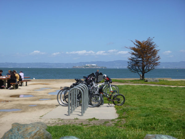 Bicycles in Foreground
