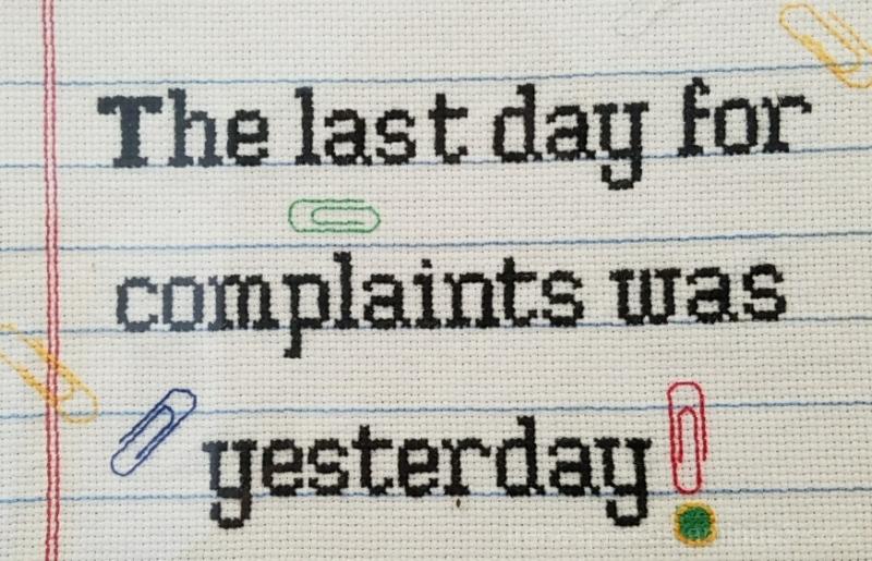 Complaints - ST