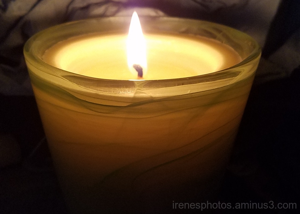 Candle Flame on 08.09.2017