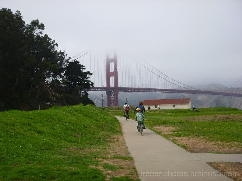 Fog & Golden Gate Bridge on 08.25.2017