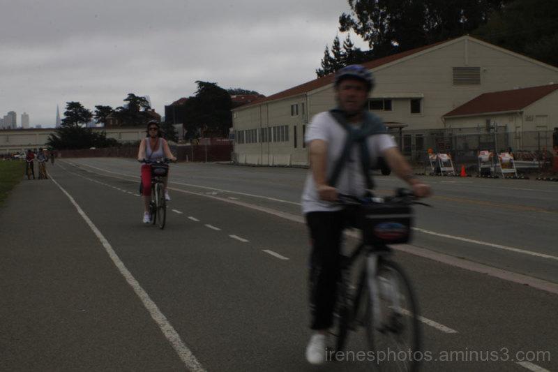 Tourist Cyclists