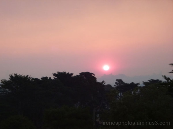 Effects From Fires (Morning Sun)
