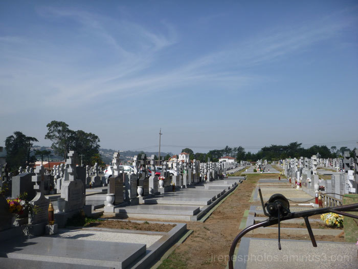 At Cemetery