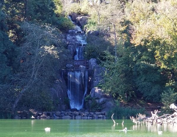 Waterfalls at Stow Lake on 10.27.2017