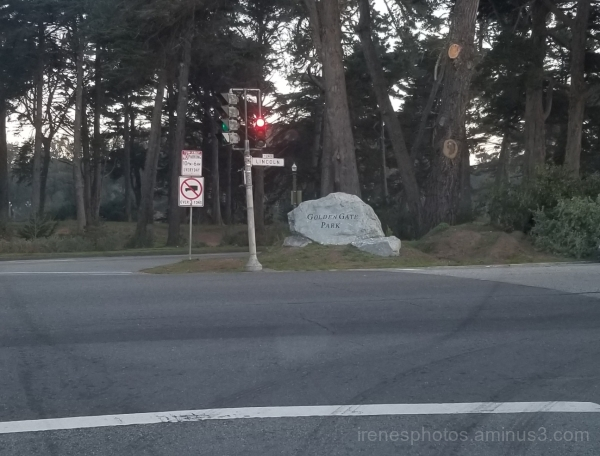 Golden Gate Park Entrance
